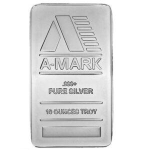10oz-amark-silver-bar-front