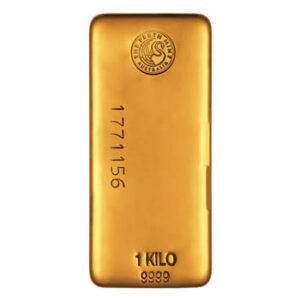 1 kilo gold bullion bar