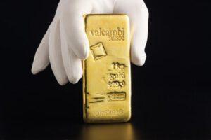 1k Gold Bar - Valcambi Suisse