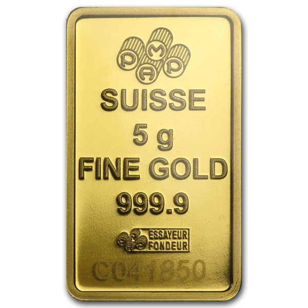 5 gram gold bullion