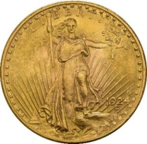 American Double Eagle Gold Coin