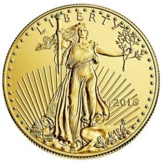 American Gold Eagle ½oz