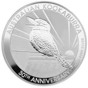 1kg Kookaburra Silver