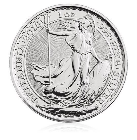 1oz Silver Britannia