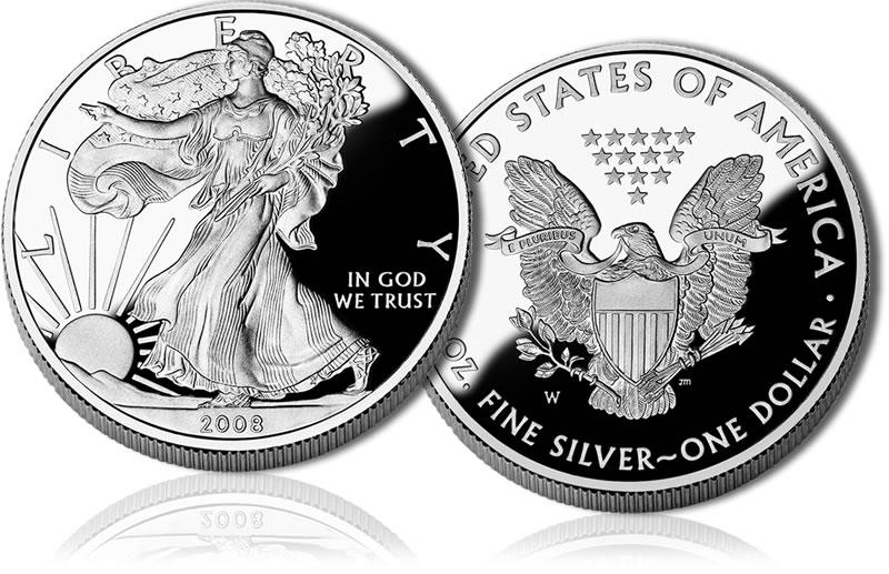 1oz Silver US Eagle