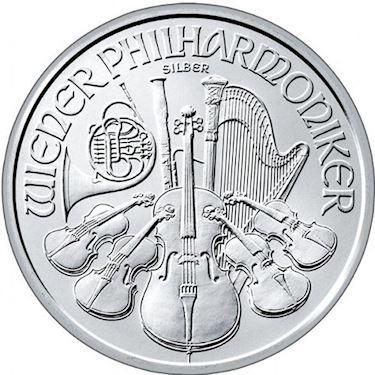 1oz Silver Vienna Philharmonic Coin